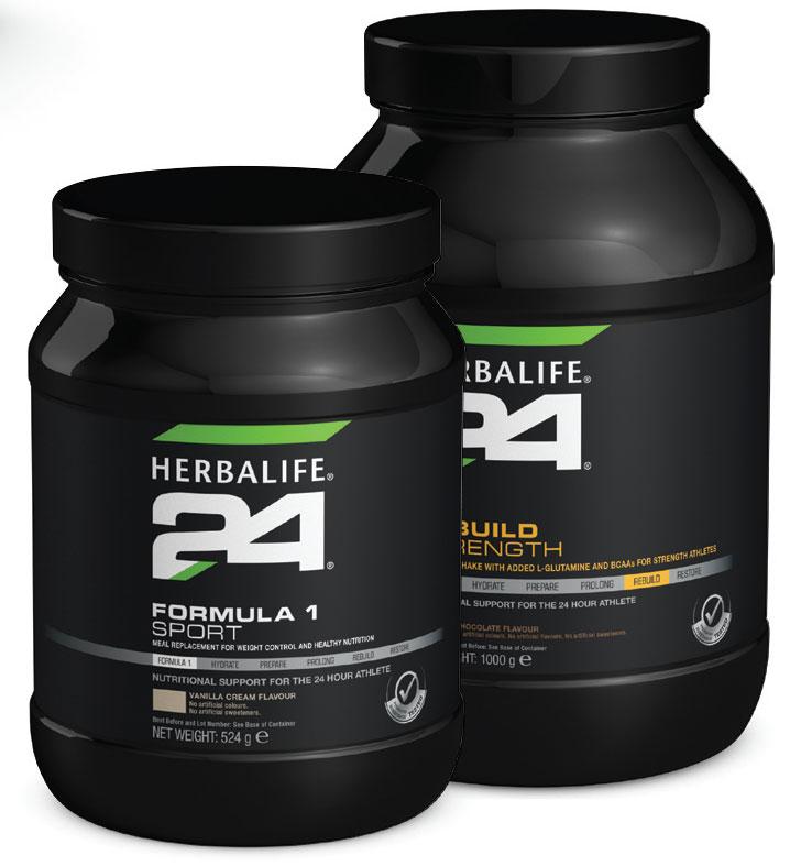 Herbalife Formula 1 Sport & Rebuild Strength