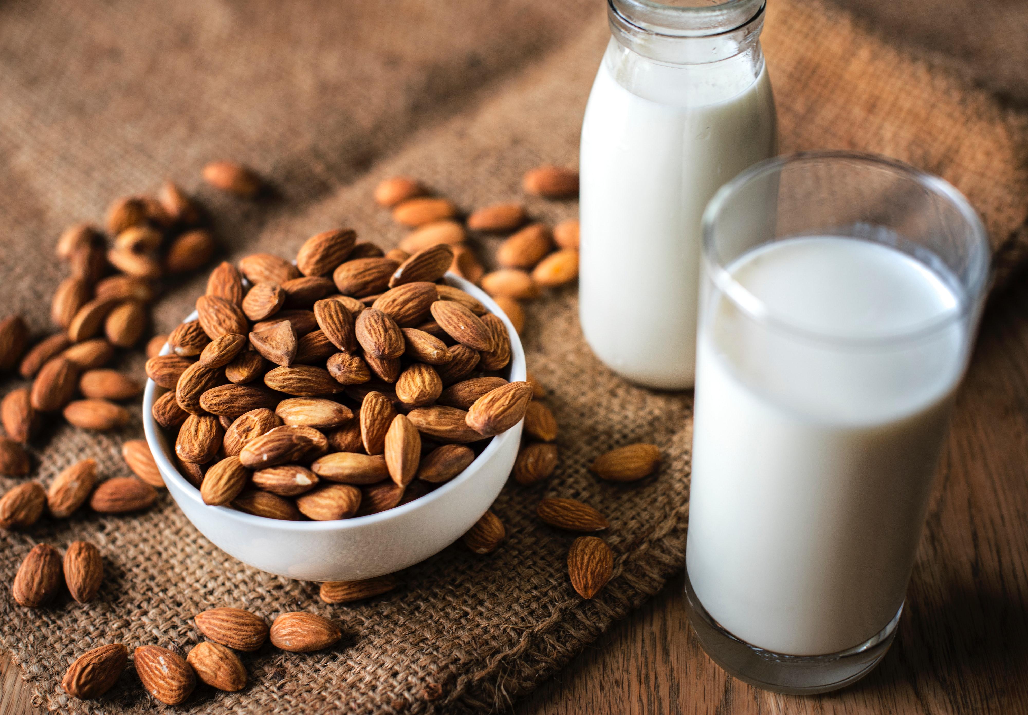 Γάλα Αμυγδάλου Σπιτικό Συνταγή